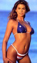 CindyCrawford-AmericanFlagBikini