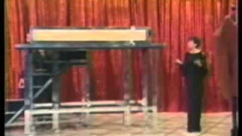 David Copperfield - Sawn in half lengthwise - Marie Osmond