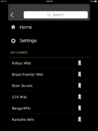 Navigation Panel iOS