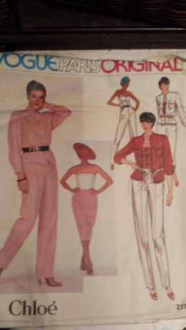 File:Vintage 70's Vogue Pattern 2172 By Chloe Front.jpg