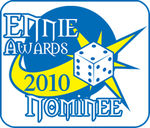 Ennies award nominee 2010
