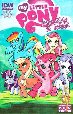 File:MLP IDW Issue -6 Con Edition 2013 cover.jpg