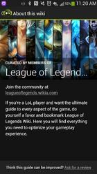 League of legends wikia