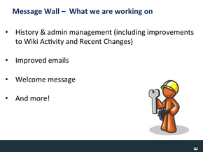 Message Wall & Wiki Nav Slide19