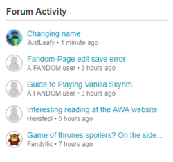 ForumActivityTU