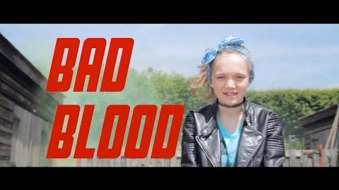Taylor Swift - Bad Blood - Cover by 12 year old Sapphire Official Video