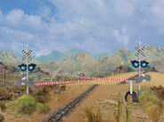Go West Young Train 054, Train Gates and Signals