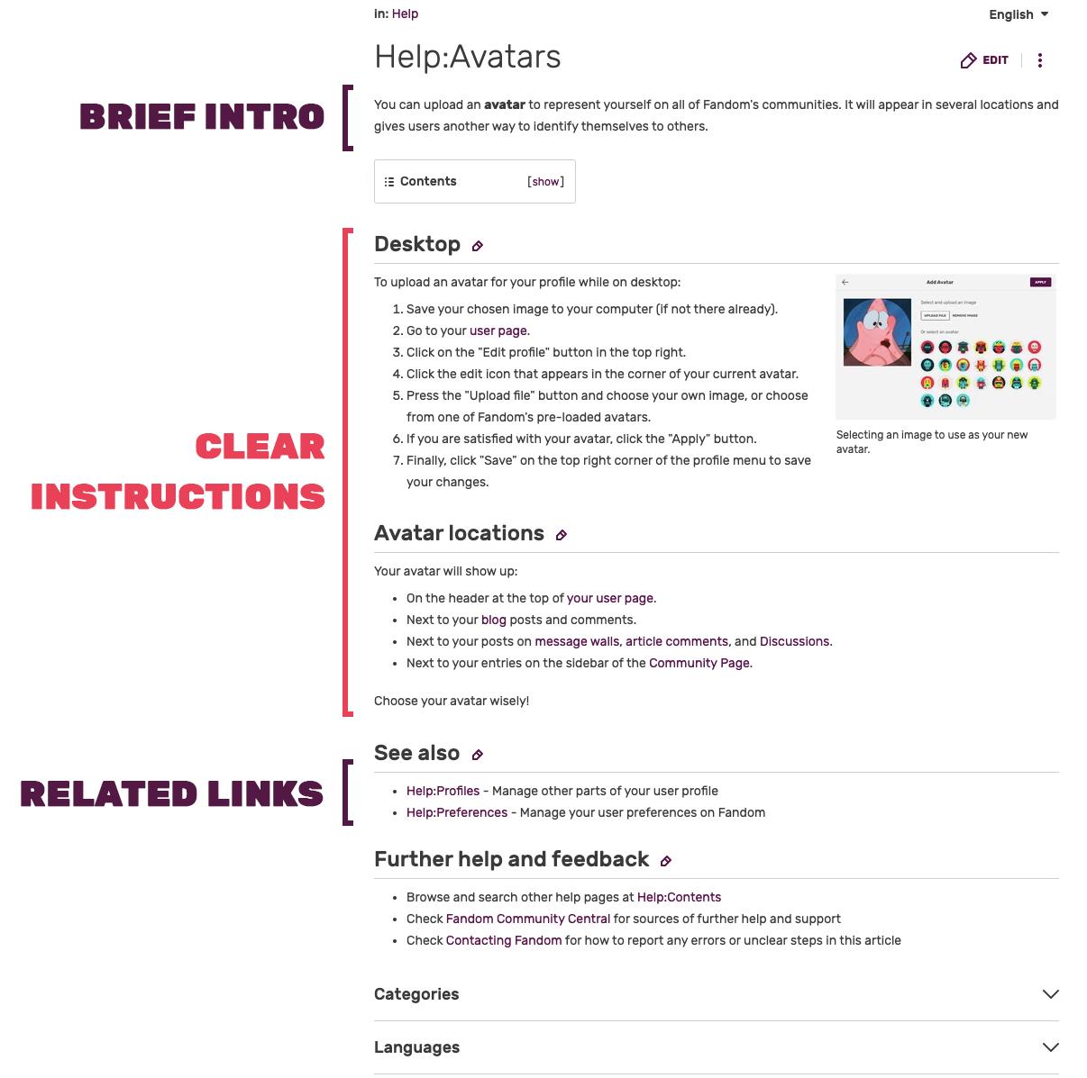 Helppage-anatomy