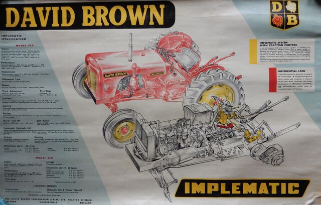 File:David Brown Implematic tractor.jpg