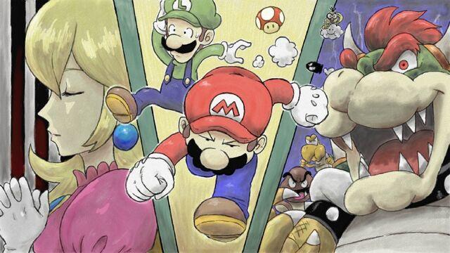File:Mario and luigi,Peach,Bowser.jpg