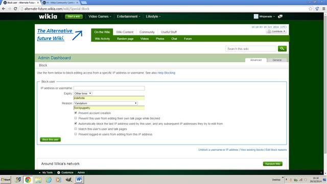 File:Screen cap of Admin dashbord.png