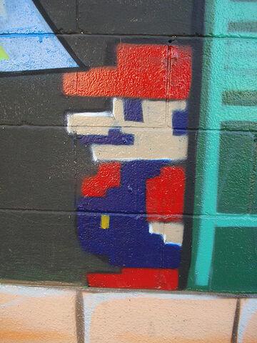 File:SuperMario Cache K4P LosAngeles Graffiti Art.jpg