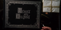 """Libro """"Heroes and Villains"""""""