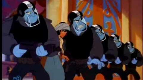 Aladdin e Il re dei ladri, Allarme rosso!
