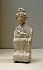 Roman terracotta mother goddess 1.JPG