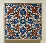 Tile panel flowers Louvre OA3919-2-297