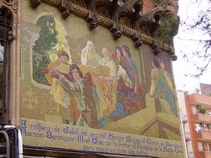Mosaic Ramon Barenguer Hospital de Sant Pau.JPG