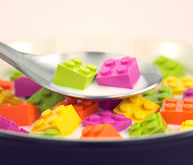 Cereal,colorful,fun,humor,lego,morning,photography-19d958f6d091a9a52839393e17c55ca1 m