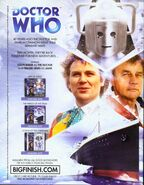Legend of the Cybermen ad