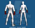 Long Glove - Fantasy (Hands) - Back
