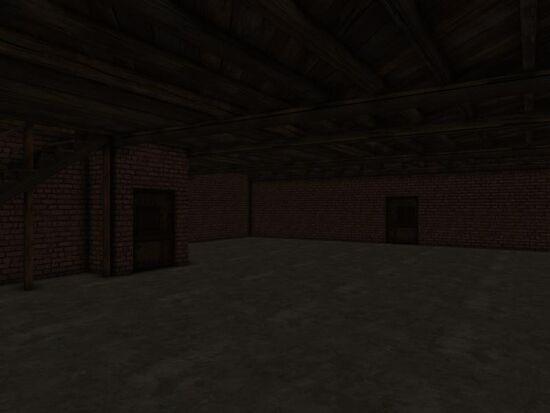 Basement - Walls - Mom's - Red Brick