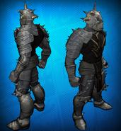 Demon Knight Costume Set Detail 2