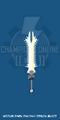 Medium Dark Fantasy Demon Blade