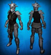 Demon Knight Costume Set Detail 1