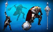 Dark Ages Fantasy Costume Set Detail 3