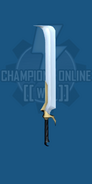 Heavy Sword Hooked