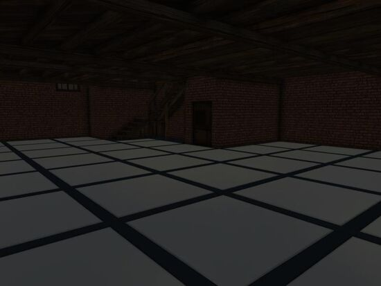Basement - Floor - Tech - Metal White