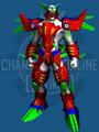 Sakura Mecha Armor Set