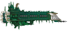 Retribution Battleship by The First Magelord
