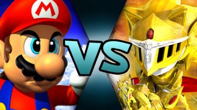 64 Mario VS Excalibur Sonic (MM875)