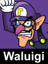 Waluigi Icon PF