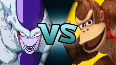 Frieza VS Donkey Kong