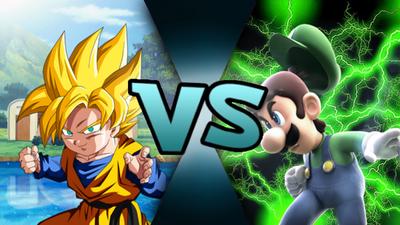 Son Goten VS Luigi