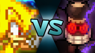 Super Sonic VS Dark Fawful MM875