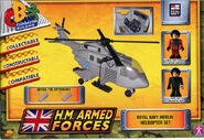 Royal Navy Merlin Helicopter box