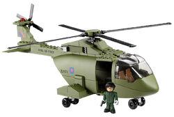 Rafmerlinhelicopter