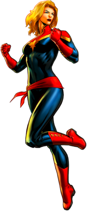 Captain marvel by alexiscabo1-d9zf34x