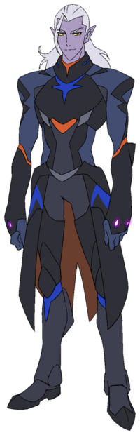 Lotor, the Prince of the Galra Empire