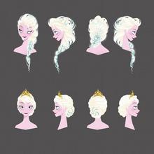 Elsa hair concept