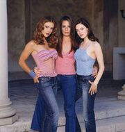 Charmed Season 4 promotional