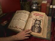 Lazarus demon page