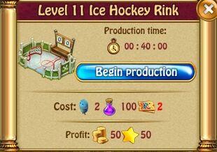 Ice Hockey Rink L11