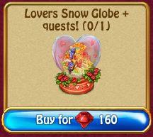 Lovers Snow Globe