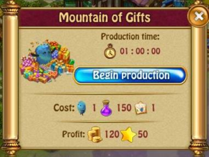 Mountain of gifts P