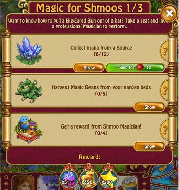 Magic for shmoos 1 of 3