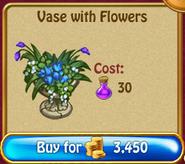 Vase with flowersN130